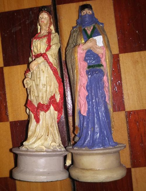 Crusades Chess Set Queens